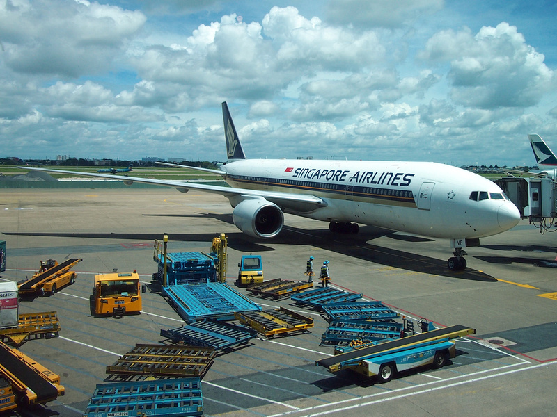 Singapore Airlines at SGN