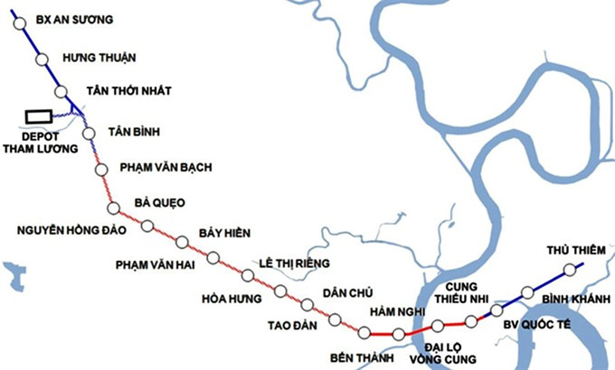 HCMC to extend Metro Line 2