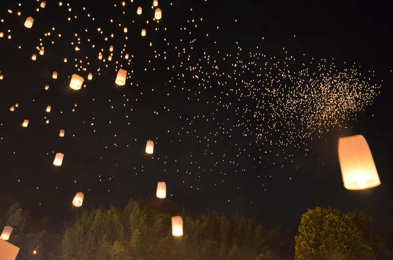 Yi Peng Sky of Lanterns