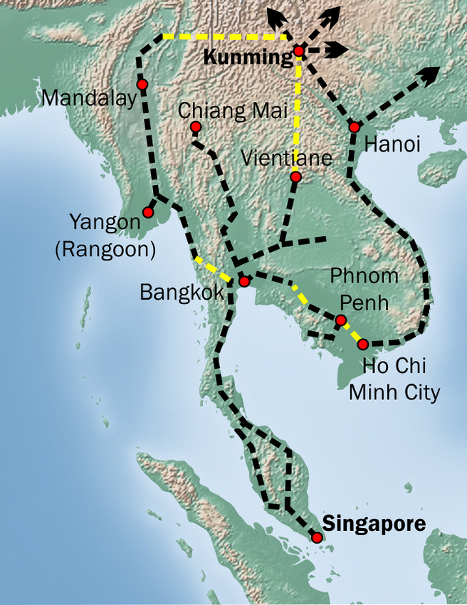 Kunming-Singapore Rail Link
