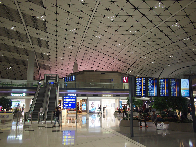 Hong Kong International Airport Gates 200s