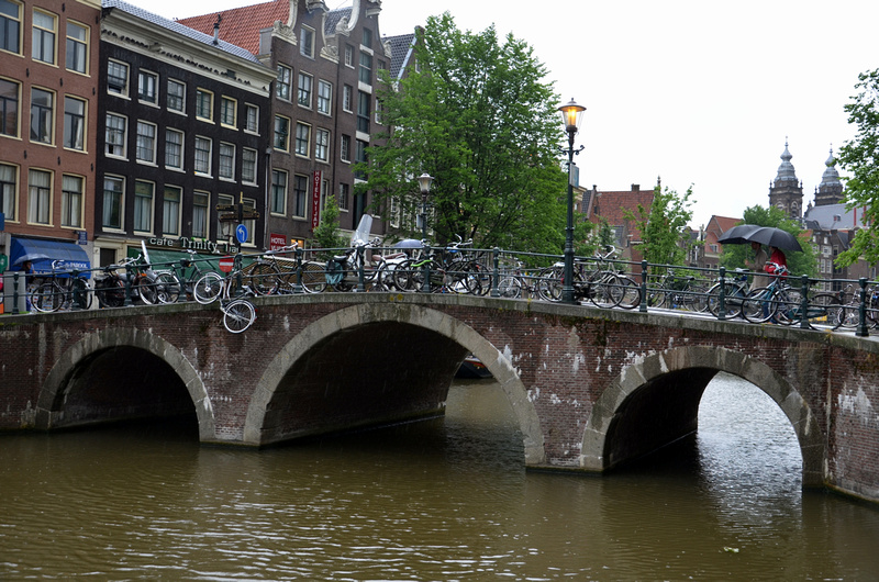 Bikes and bridges Amsterdam