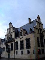 Palace Of Margaret Of Austria, Mechelen - Belgium.