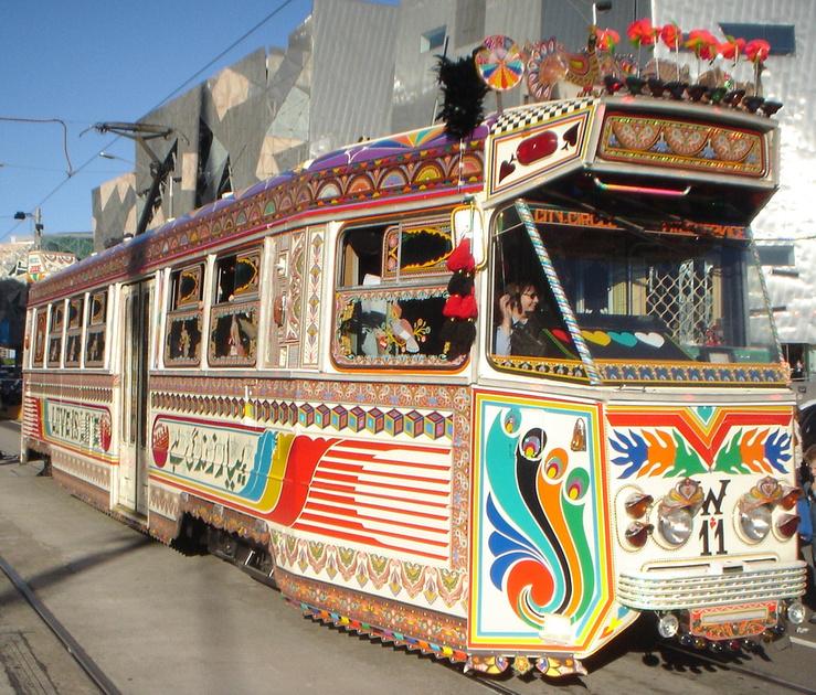 W-11 Karachi - Melbourne Tram