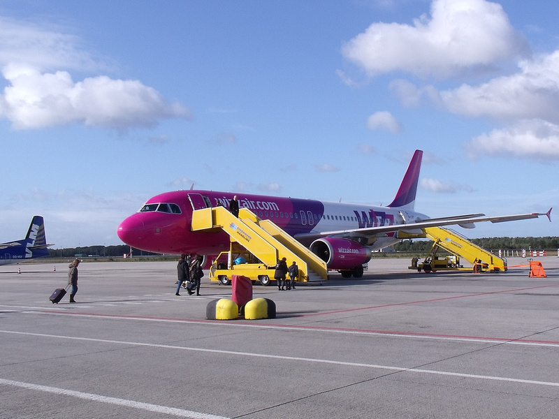 WizzAir at Eindhoven Airport