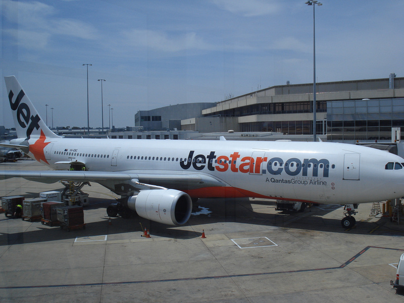 Jetstar at Melbourne Airport