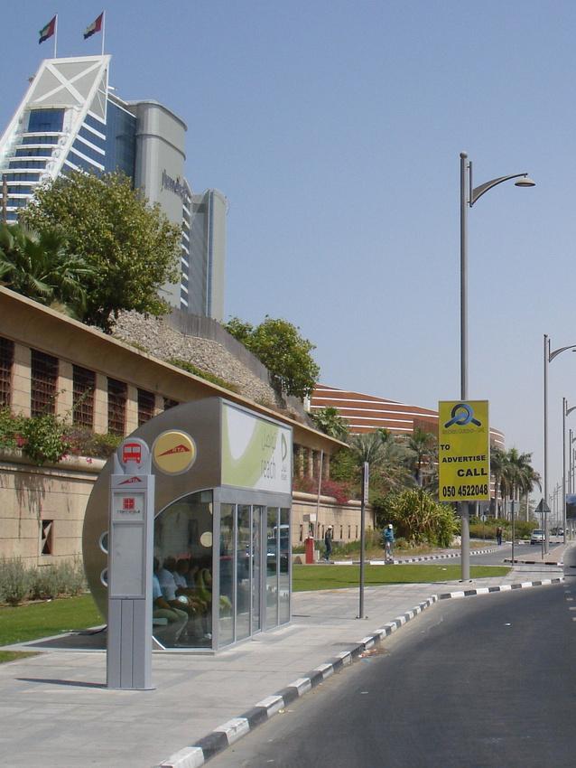 Dubai Air Conditioned Bus Stop