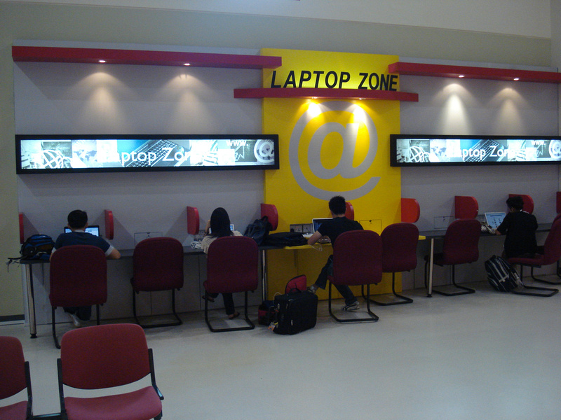 Singapore Budget Terminal - Laptop Zone