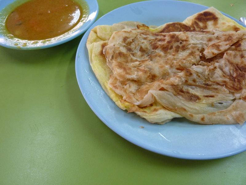 Roti Canai and Roti Telur