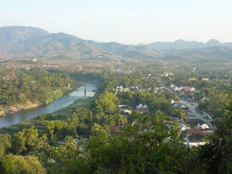 Luang Prabang from Phu Si