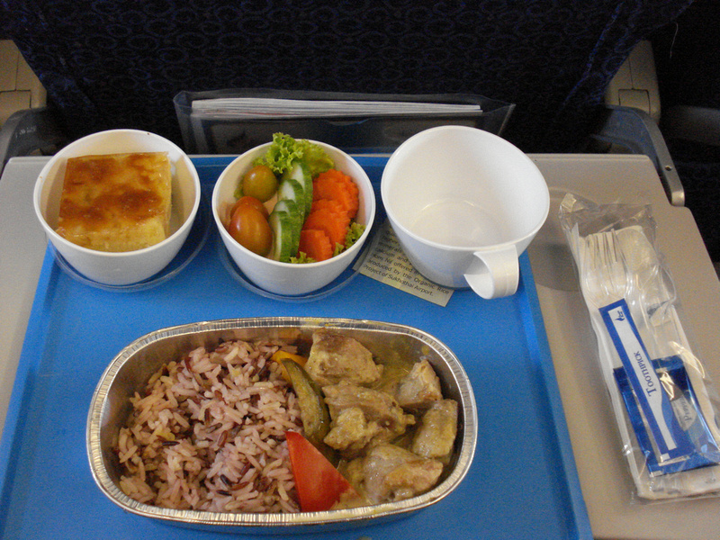 Bangkok Airways Inflight Meal