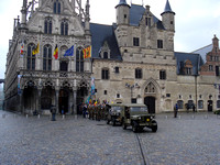 Armistice Day Parade on November 11 2007, at the City Hall, Mechelen - Belgium.