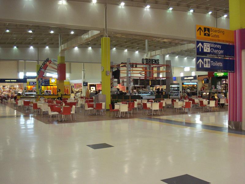 Singapore Airport Budget Terminal - Airside