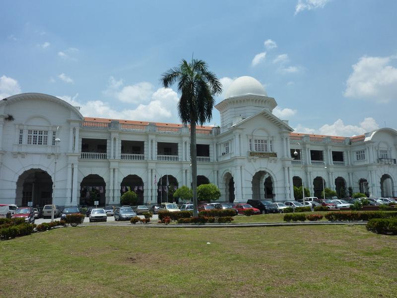 Ipoh train station.