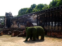 The Elephant Stables, Lopburi - Thailand.