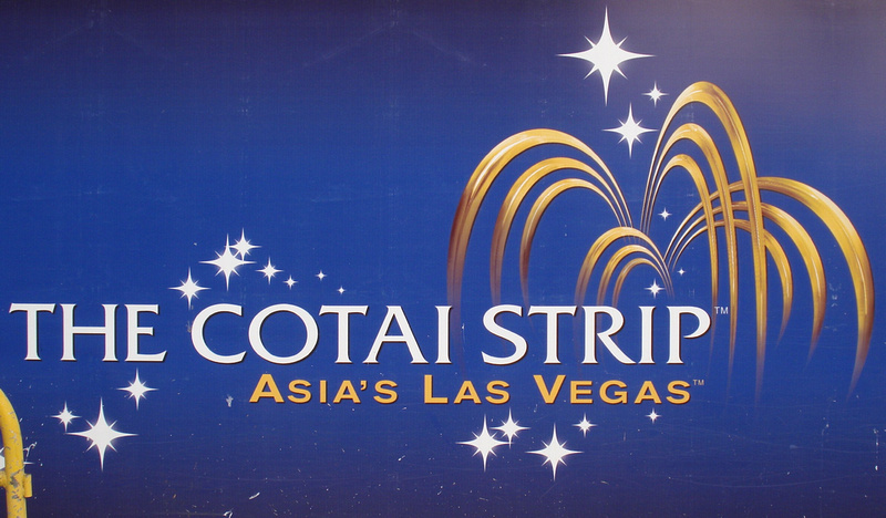 The Cotai Strip - Asia's Las Vegas