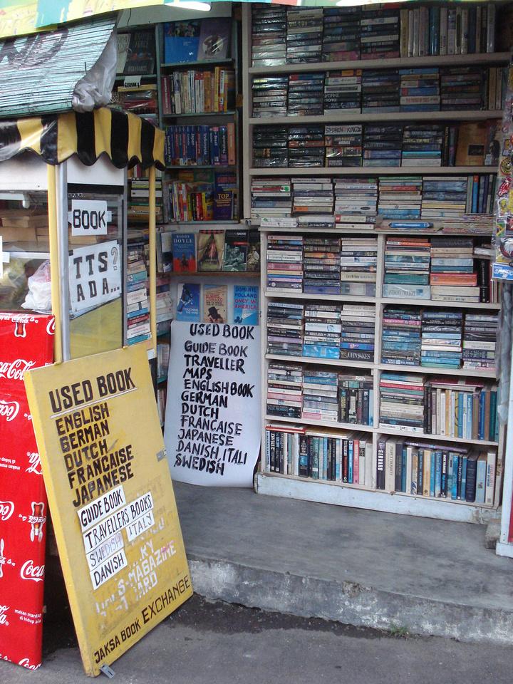 Bookshop on Jalan Jaksa, Jakarta