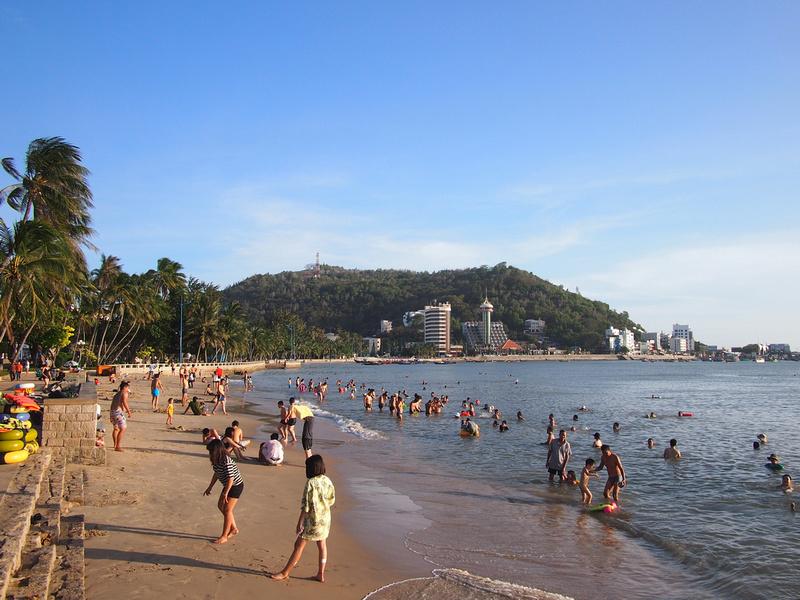 Vung Tau front beach