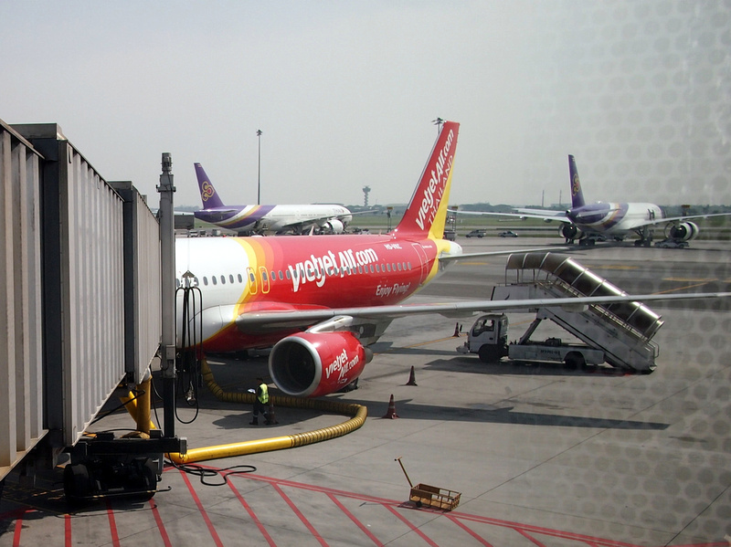 Thai Vietjet Air at Bangkok (BKK)