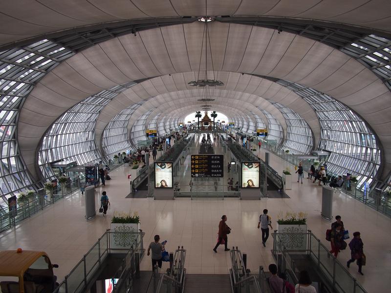 Bangkok Suvarnabhumi Airport Gates E