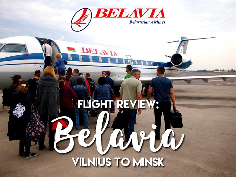 Flight Review: Belavia - Vilnius to Minsk