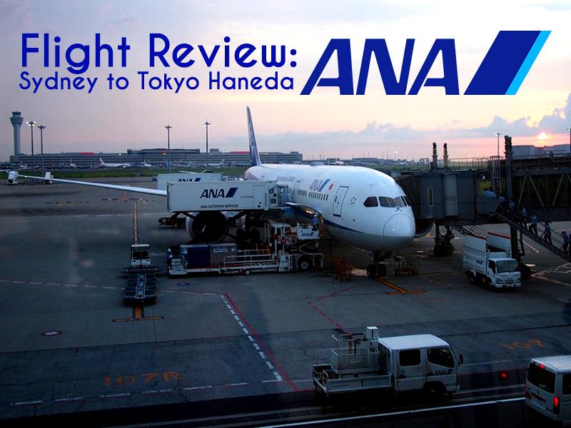 Flight Review: ANA - Sydney to Tokyo Haneda