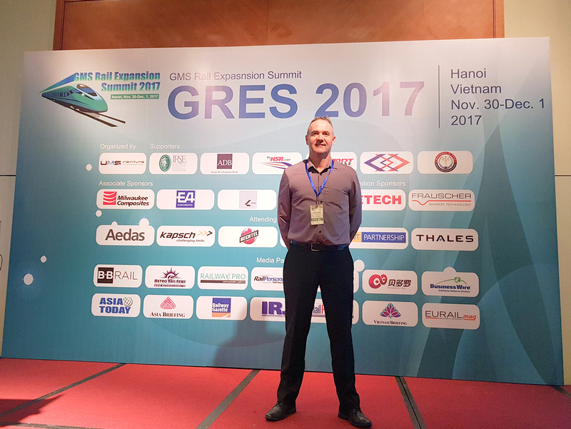 James at Greater Mekong Subregion Rail Expansion Summit