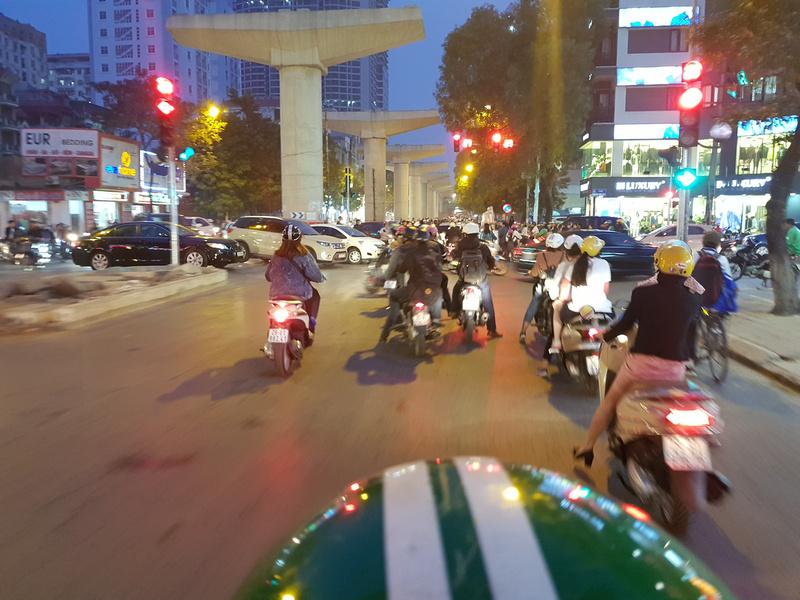 Grab in Hanoi