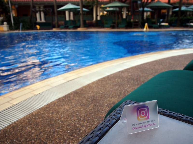 Instagram pool