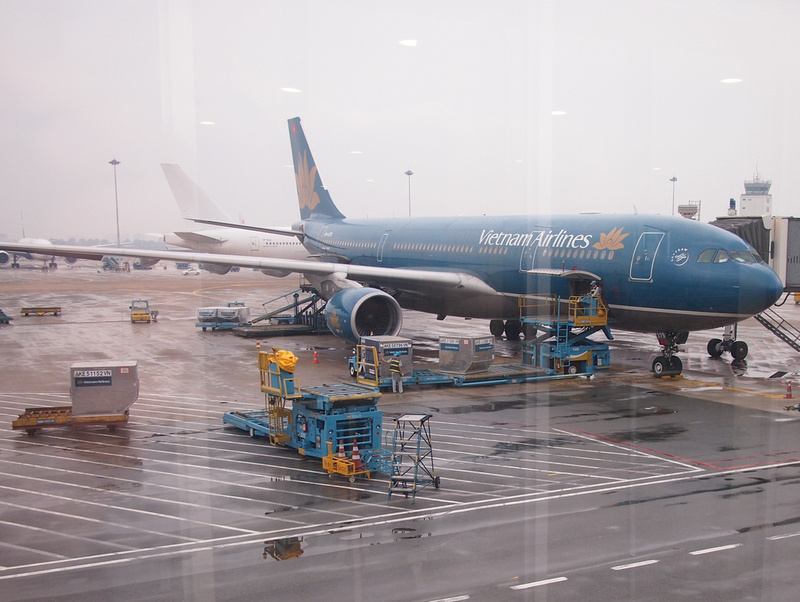 Vietnam Airlines at SGN