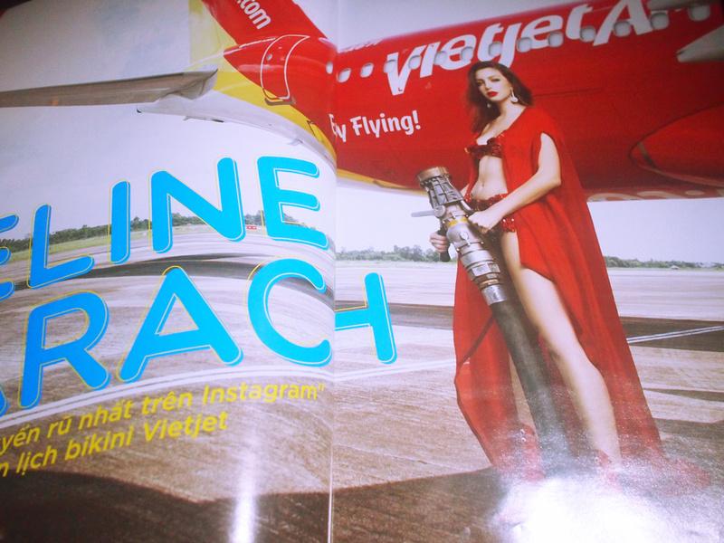 VietJet Air bikini fuel