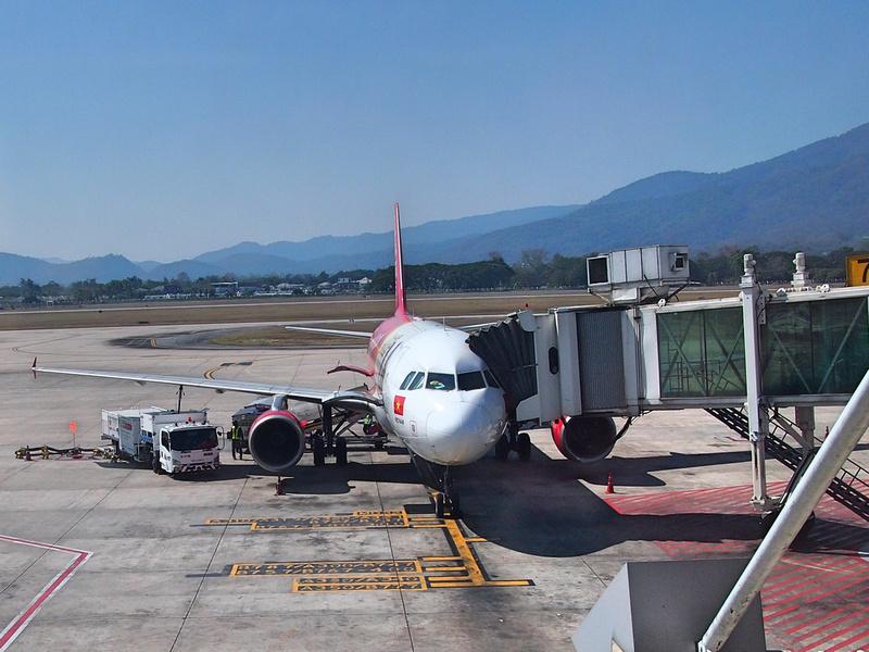 VietJet Air at Chiang Mai
