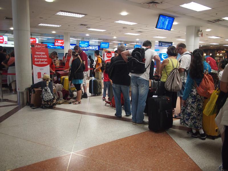 Check-in queue