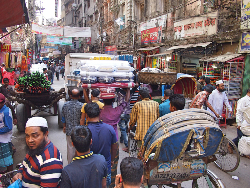 Bazar traffic