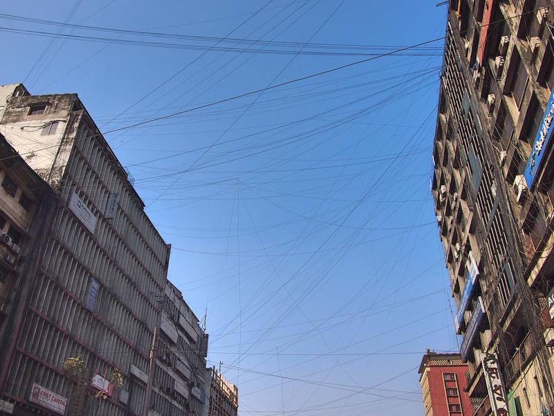 Cross-street wiring