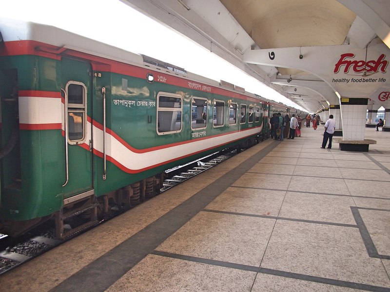 Dhaka to Chittagong train