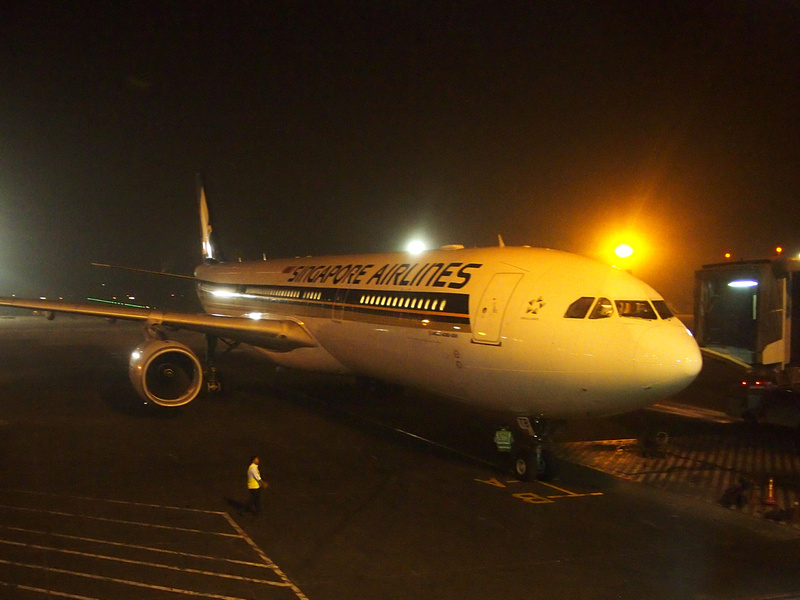Singapore Airlines at DAC