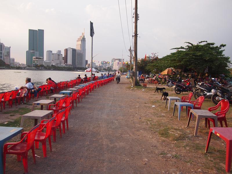 Riverside seats
