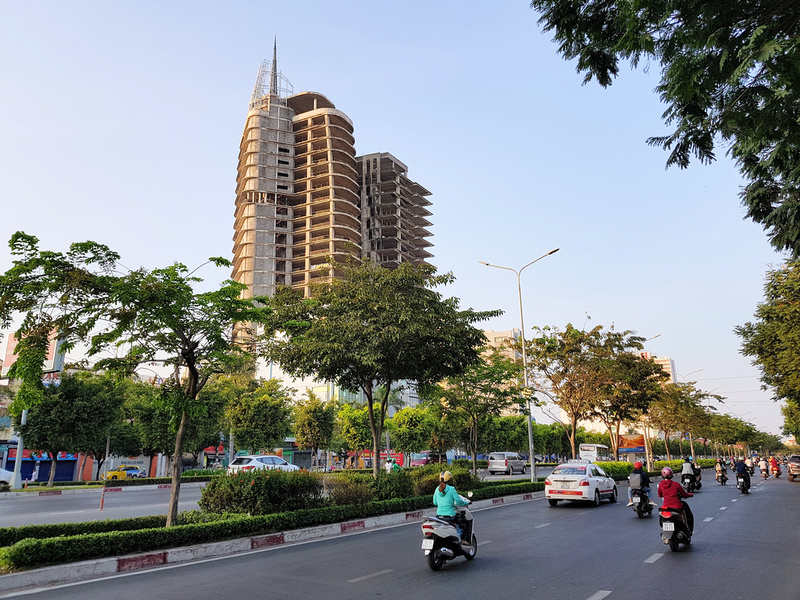V Tower on Dien Bien Phu