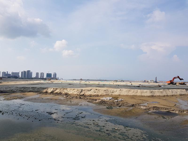 Gurney Wharf land reclaiming