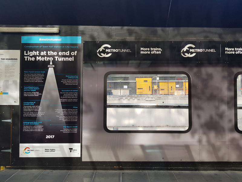 Metro construction timeline