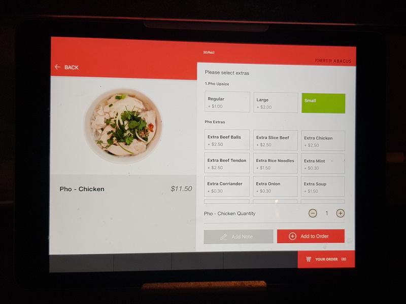 Order pad