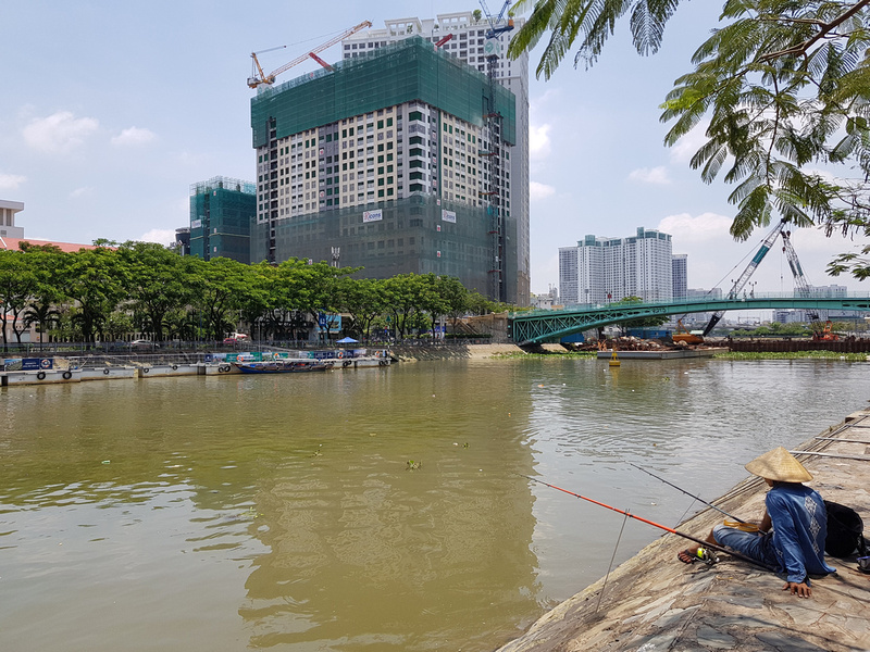 Saigon Royal under construction