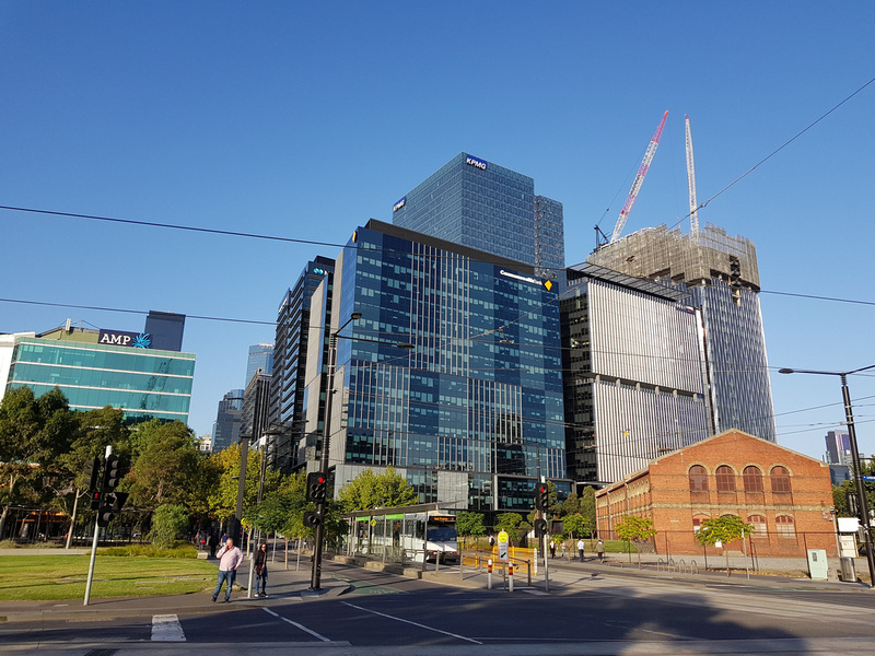 Old and new Docklands