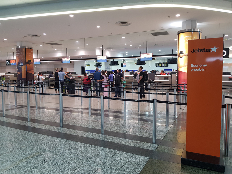 Jetstar check-in Melbourne Tullamarine Airport