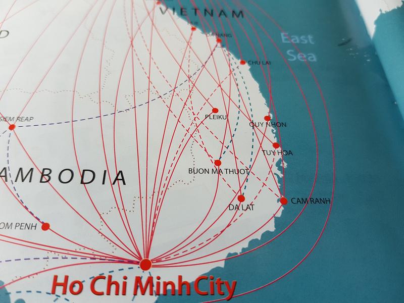 Southern Vietnam flights