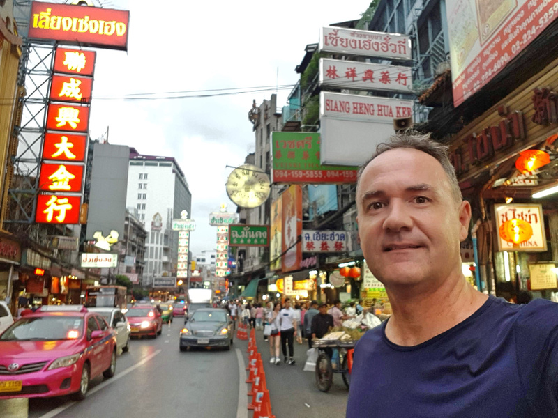 James in Bangkok Chinatown