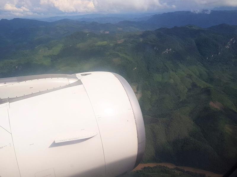 Laos mountain view