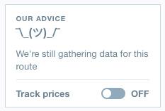 Still gathering data