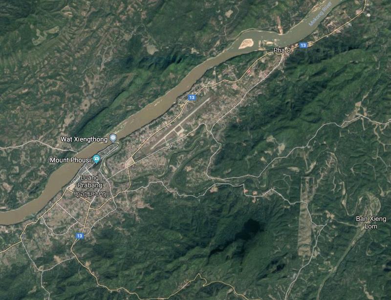 Luang Prabang - Google view